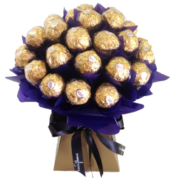 24 Ferrero Chocolates in Bouquet