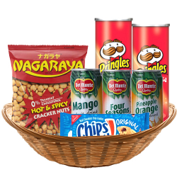 All Day Snack Gift Basket to Manila