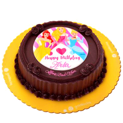 Disney Princesses Birthday Greeting Cake By Goldilocks