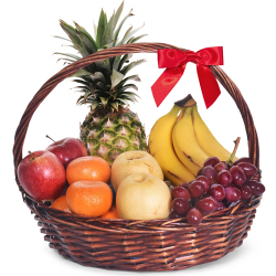 Large Fresh Fruit Basket