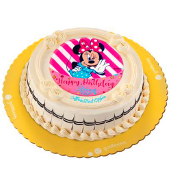 Minnie Birthday Greeting Cake by Goldilocks