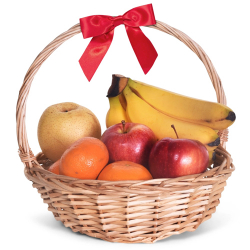 Small Fresh Fruit Basket
