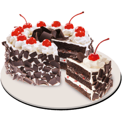 send black forest cake by red ribbon to philippines