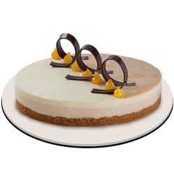 send caramel mango mousse cake by red ribbon to manila