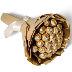 24 Pcs. Ferrero Chocolate in Hand Bouquet