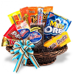 Snack Food Milk Gift Basket to Manila