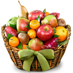 Full of Fruit in a Basket