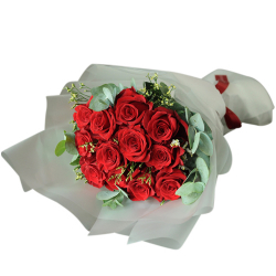 24 Stems Bouquet Of Red Roses