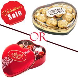 Valentines Heart Shape Chocolate Box