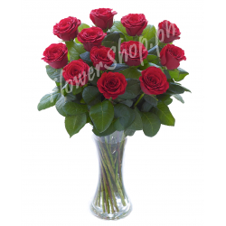 buy one dozen roses vase in philippines