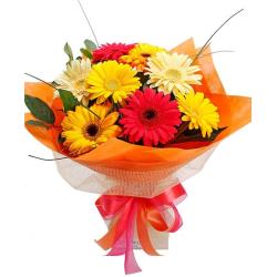 send 20 stem gerberas bouquet to philippines