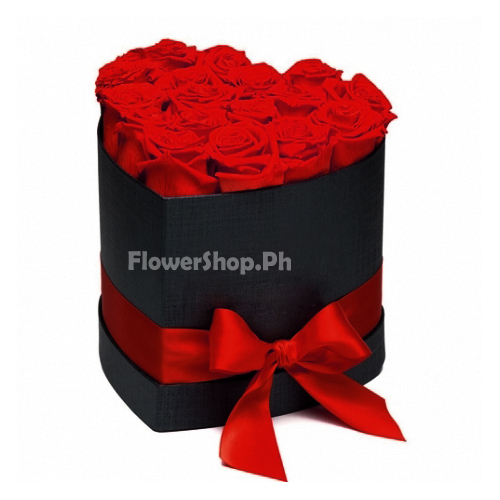 buy 12 red heart shaped roses in philippines