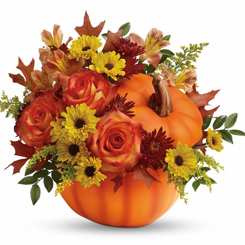 send mixed flowers for halloween to philippines