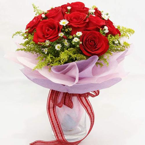 one dozen red rose send to philippines