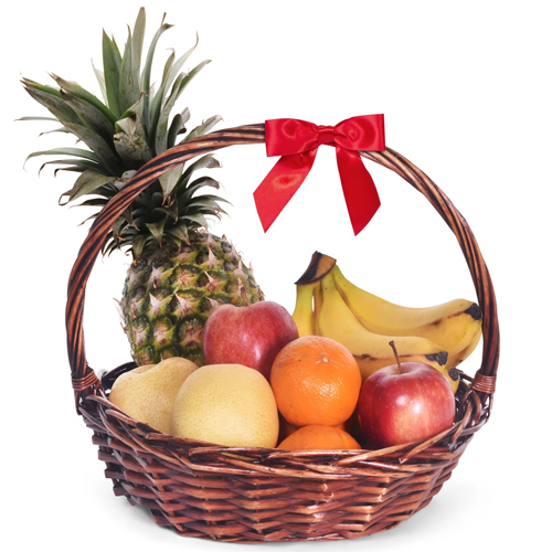 Medium Fresh Fruit Basket