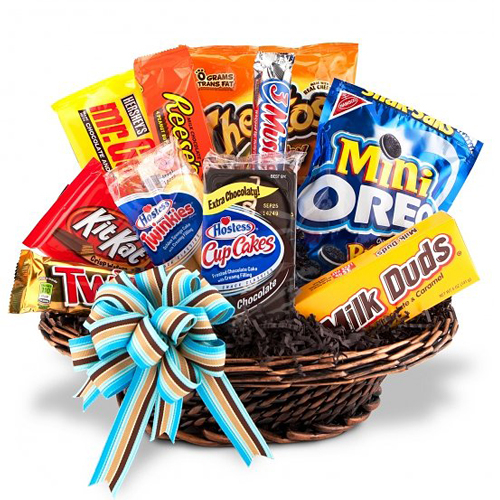 Snack Food Milk Gift Basket to Manila
