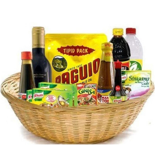 Mix Grocery Pack Gift Basket to Manila