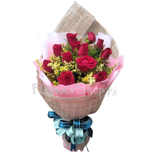 send heart of missing 12 red roses to manila