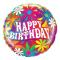 1 pcs Birthday Mylar Balloon
