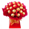 2 Dozen Ferrero Rocher in Hand Bouquet