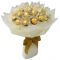 16 Ferrero Rocher in Hand Bouquet