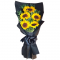 5 pcs Sunflower in Hand Bouquet