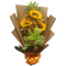 3 Pieces Sunflowers in Bouquet